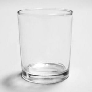 Monticiano Clear Glass Votive Cup Candle Holder